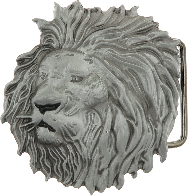 Lion Head Buckle Genuine Free Shipping Belt mart