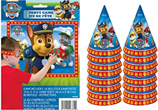 PAW Patrol Party Game and Party Hats for 16 Guests