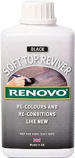 Renovo Soft Top Reviver (Black) - 500ml