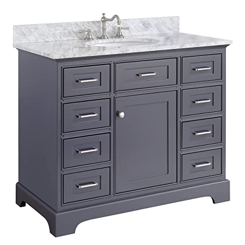 42 Inch Vanity With Sink Amazoncom