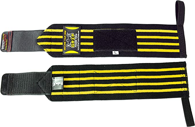 Grip Power Pads Deluxe Wrist Wraps