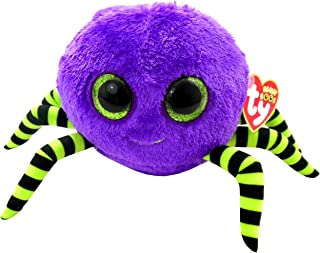 Ty Beanie Boos Crawly Purple And Green Spider