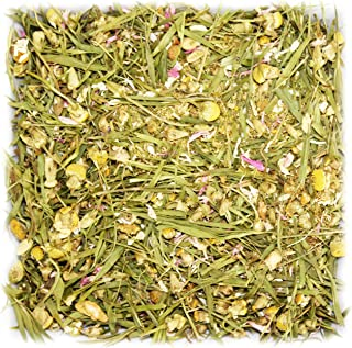 Tealyra - Bamboo Chamomile Glow - Bamboo Leaves - Pineapple - Herbal Relaxing Calming Loose Leaf Tea - Caffeibe Free - 112g (4-ounce)