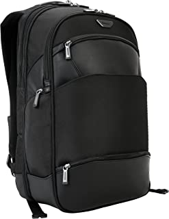Targus Mobile-VIP Travel and Checkpoint-Friendly Backpack for 15.6-Inch with SafePort Sling Drop Protection, Black (PSB862)