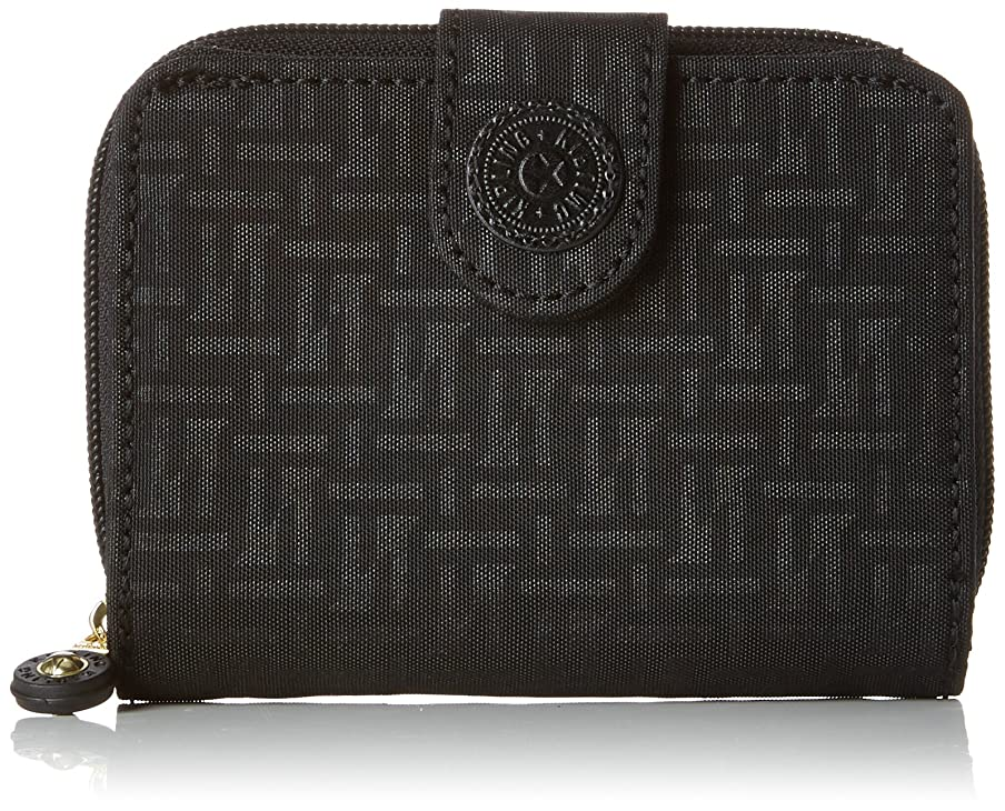降ろす静的注意(Black (Black Pylon Emb)) - Kipling Women's New Money Wallet