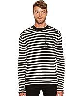 McQ - Striped Icon Sweater