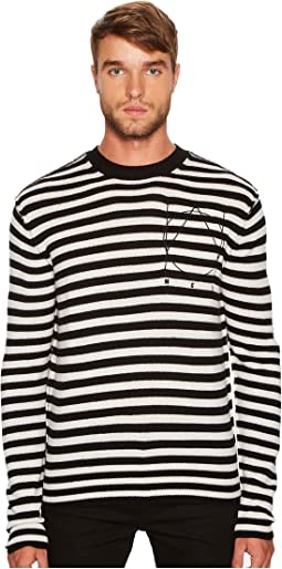 McQ - Striped Icon Sweater