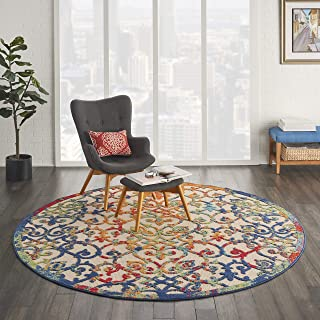 Nourison Aloha ALH21 Multicolor Easy-Care Indoor-Outdoor Rug 7'10