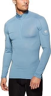 Mammut Men's Go Dry Zip Longsleeve Shirt & T-Shirts