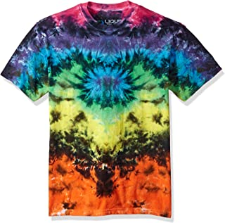 Men's Butterfly Krinkle Tie Dye Short Sleeve T-Shirt