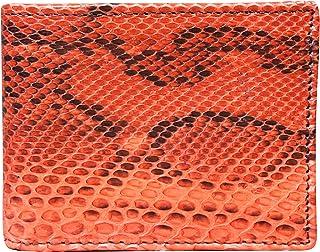 Portafoglio Uomo in Vero Pitone - Prodotto Artigianale fatto nel Cuore della Toscana - Rettile - Vera Pelle