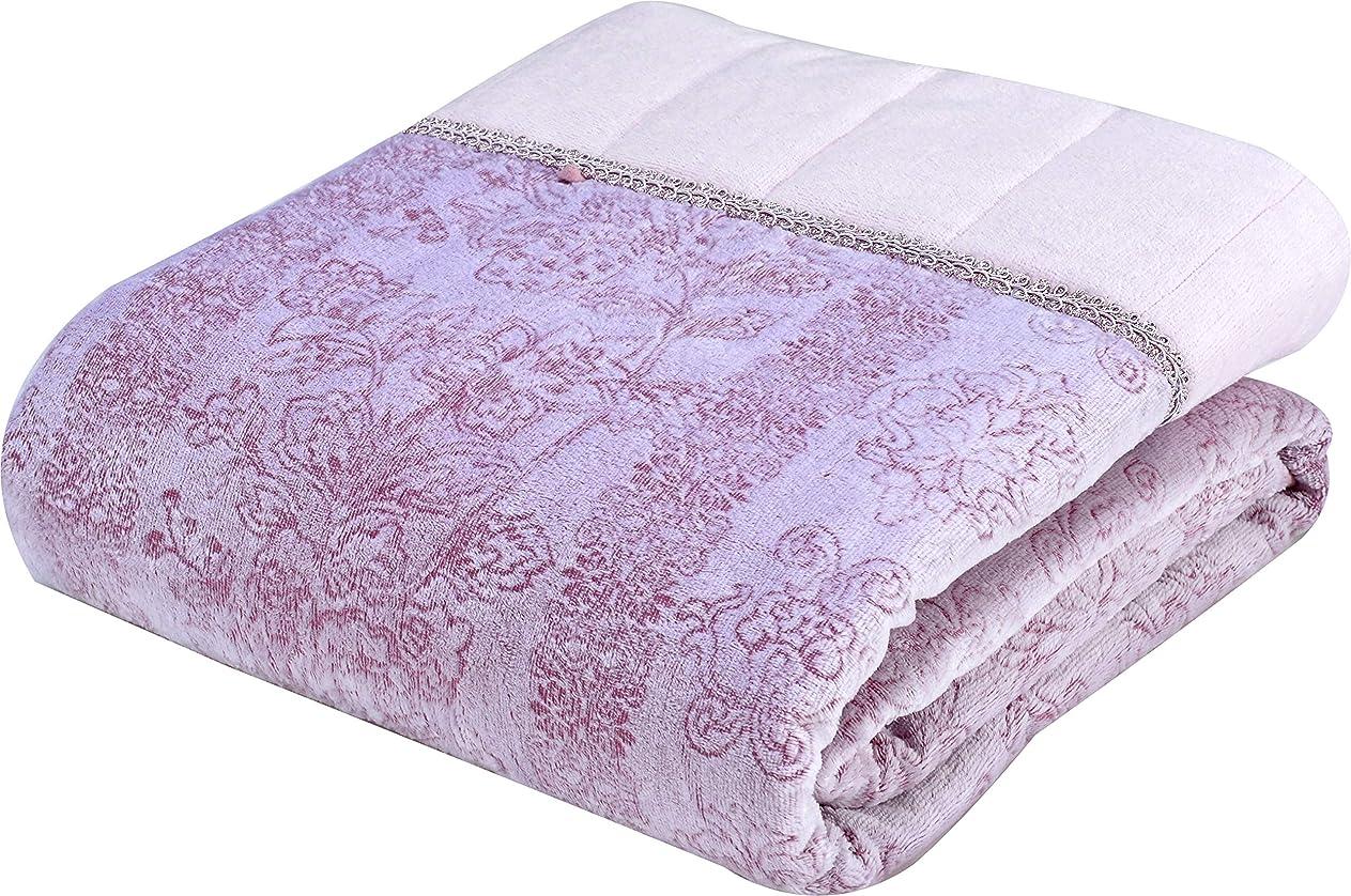 雄弁な貫入スタック西川(Nishikawa) 掛けふとん ピンク シングルサイズ140×200㎝ 洗える 肌掛けふとん 綿100% ふんわり やわらか 4G1901-UK