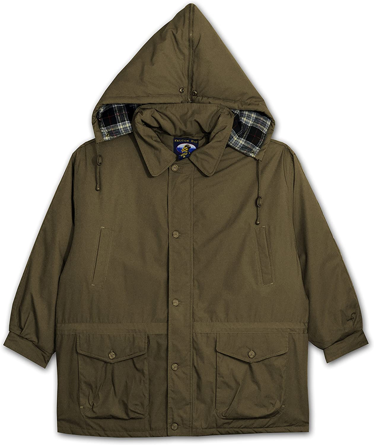 Falcon Bay Big and Tall Mens Insulated Parka