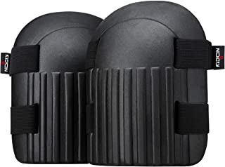 NoCry Gardening and Cleaning Foam Knee Pads for Men and Women with Two Strong, Adjustable Straps, Thick, Comfortable, Wate...