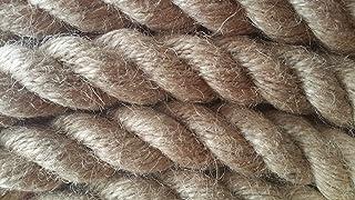 30/m 20/mm/ /Cuerda fibras naturales, yute, gedreht roc/ío de c/á/ñamo y yute
