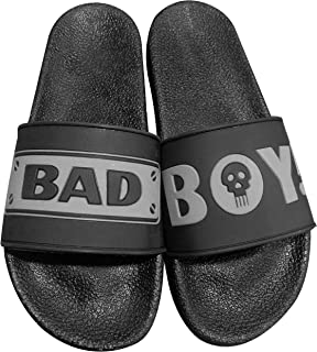 SNT Extra Soft Bad BOY Rubber House Slippers for Men and Boys