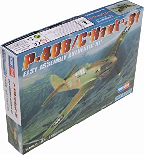 Hobby Boss P-40B/C Hawk-81 Airplane Model Building Kit