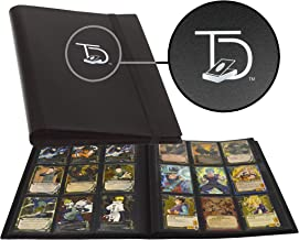 TopDeck 500 Card Pocket Folder Pro | 9 Pocket Trading Cards Album | Side Load Sleeves | Pokemon/MTG/Yugioh/TCG Folder | Tr...