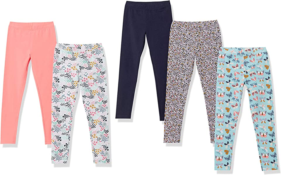 Amazon Essentials Girls' Leggings