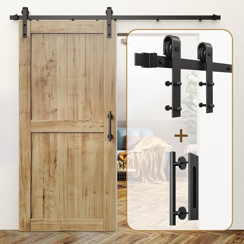 Excellence ROOMTEC Sliding Barn Door Hardware 6.6ft Kit 12
