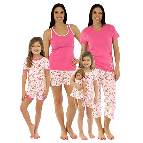 SleepytimePjs Pink Floral Mommy   Me Matching Pajamas cba329570