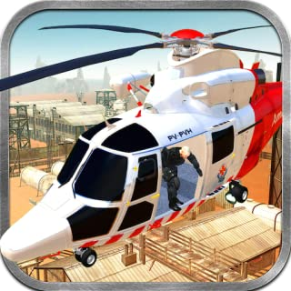 Transport Tycoon Of Military Patients Surgery Simulation 3D: Army Helicopter Air Ambulance Flight Simulator War Game 2018