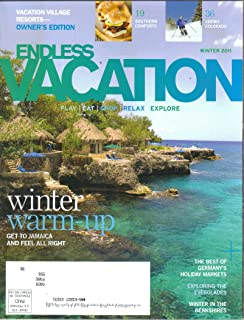 RCI Endless Vacation Magazine (Winter, 2011) (ISSN: 0279-4853)