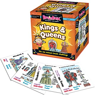 BrainBox for Kids - Kings and Queens Card Game
