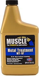 Muscle Metal Treatment MT-10, 16 Fluid Ounces, Anti-Friction Lubricant Additive
