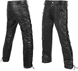 DEFY Men's Thick Cowhide Genuine Leather Full Grain...