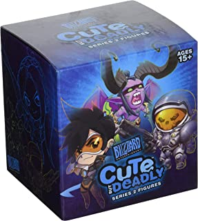 Blizzard Entertainment Cute But Deadly Series 2 Vinyl Figure Blind Box Contains: 1 Random Figure from Overwatch, Diablo, World of Warcraft Or Starcraft