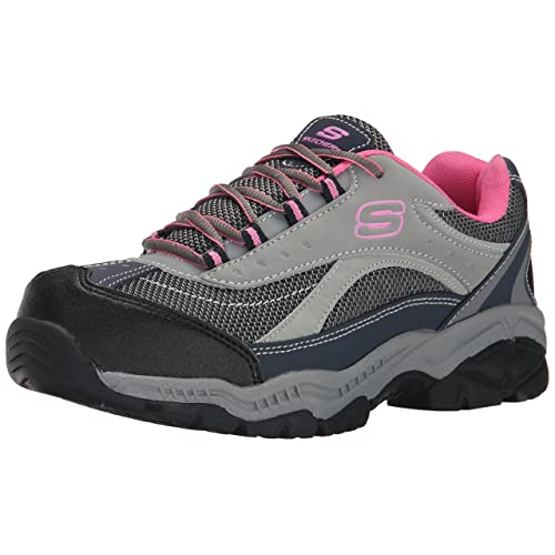 Skechers for Work Womens Doyline Steel Toe Hiker Boot