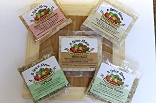 A Spice Above Variety Pack of 5 Dips