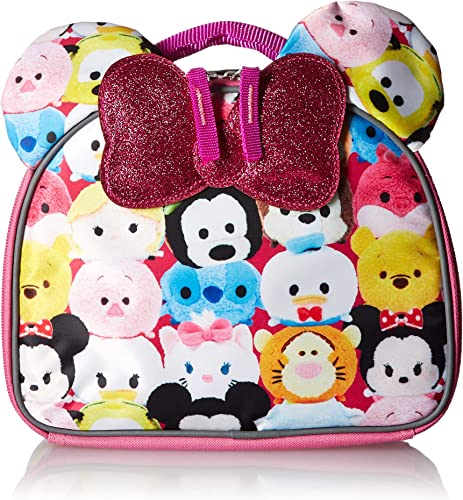 Disney Tsum Lunch sac with Bow Tote Kit, One Taille