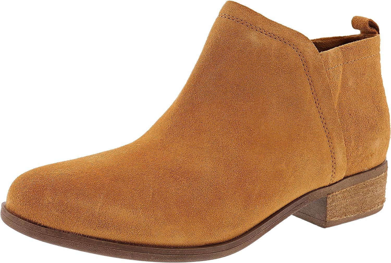 TOMS Women's Deia Ankle Boot (Caramel Brown, Numeric_10)