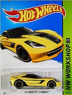 Hot Wheels 2015 HW Workshop '14 Corvette Stingray 233/250, Yellow