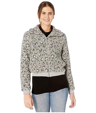 Beyond Yoga All Time Bomber Jacket (Gray Leopard) Women