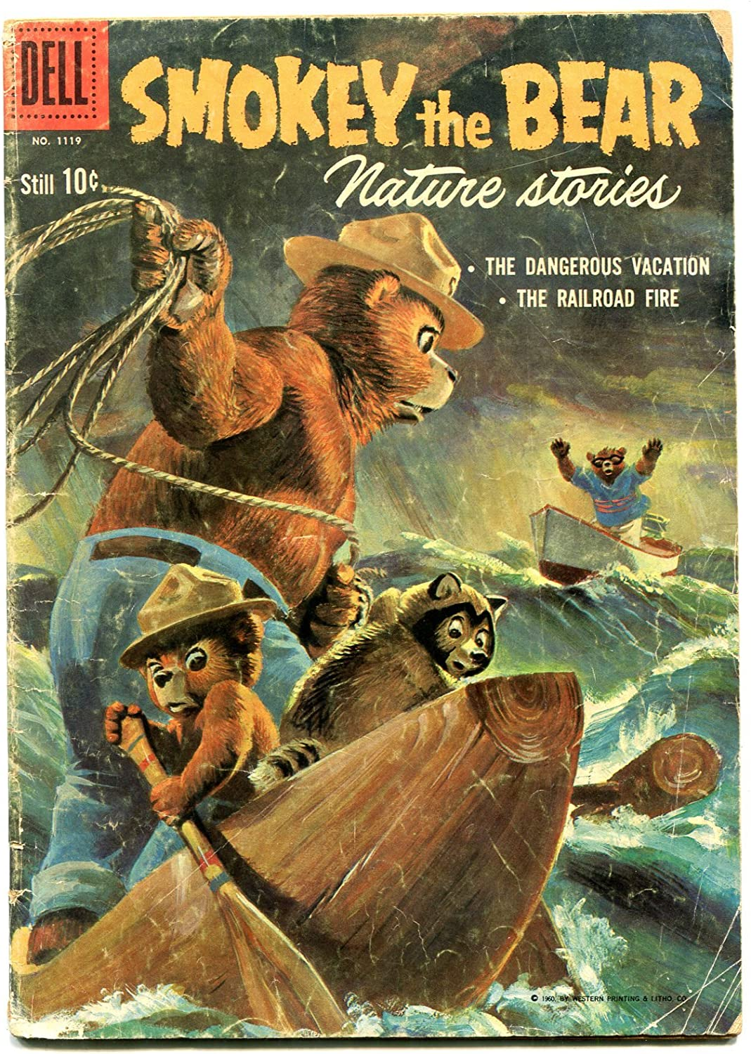 Smokey the Bear sale Nature Stories- Four Comics 1960 G Color #1119 Max 89% OFF