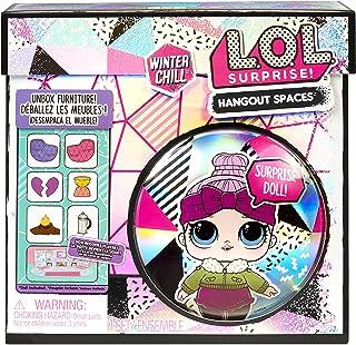 LOL Surprise Winter Chill Hangout Spaces Meubles - Cozy Babe – avec + de 10 Surprises Dont 1 poupée, Accessoires & Meubles...