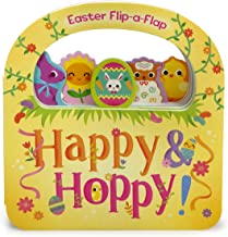 Happy & Hoppy: Easter Basket Lift-a-Flap Board Book (Flip a Flap)