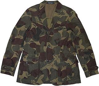 8c37e89f6 Ralph Lauren Polo Men Cotton Sport Coat Blazer Jacket Camo Green Brown  Beige 38R
