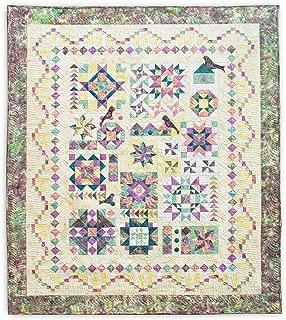 Quilt Pattern - Twilight Song Sampler Queen & Lap Size Pattern