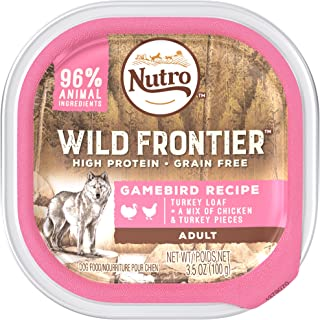 DISCONTINUED: NUTRO Wild Frontier Gamebird Recipe Turkey Loaf With a Mix of Chicken and Turkey
