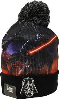 New Era All Out Darth VaderブラックPomビーニー