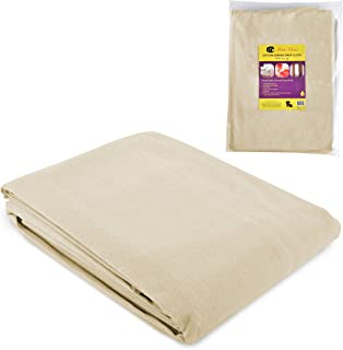 Bates- Drop Cloth, Canvas Drop Cloth 9x12, Canvas Tarp, Canvas Fabric, Drop Cloth Curtains, Drop Cloths for Painting, Pain...