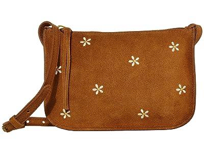 Madewell Simple Pouch Crossbody (Equestrian Brown) Cross Body Handbags