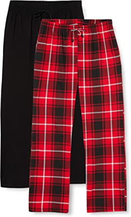 FM London Men's 2-Pack Pyjama Bottoms