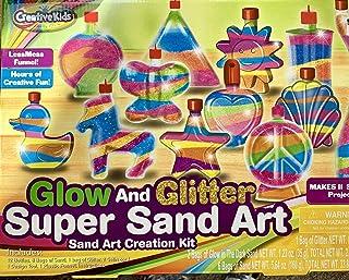 Best Creative Kids Glow in the Dark Super Glitter Sand Art Kit Review