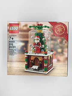 Best LEGO 40223 Snowglobe 2016 Christmas Promo Review