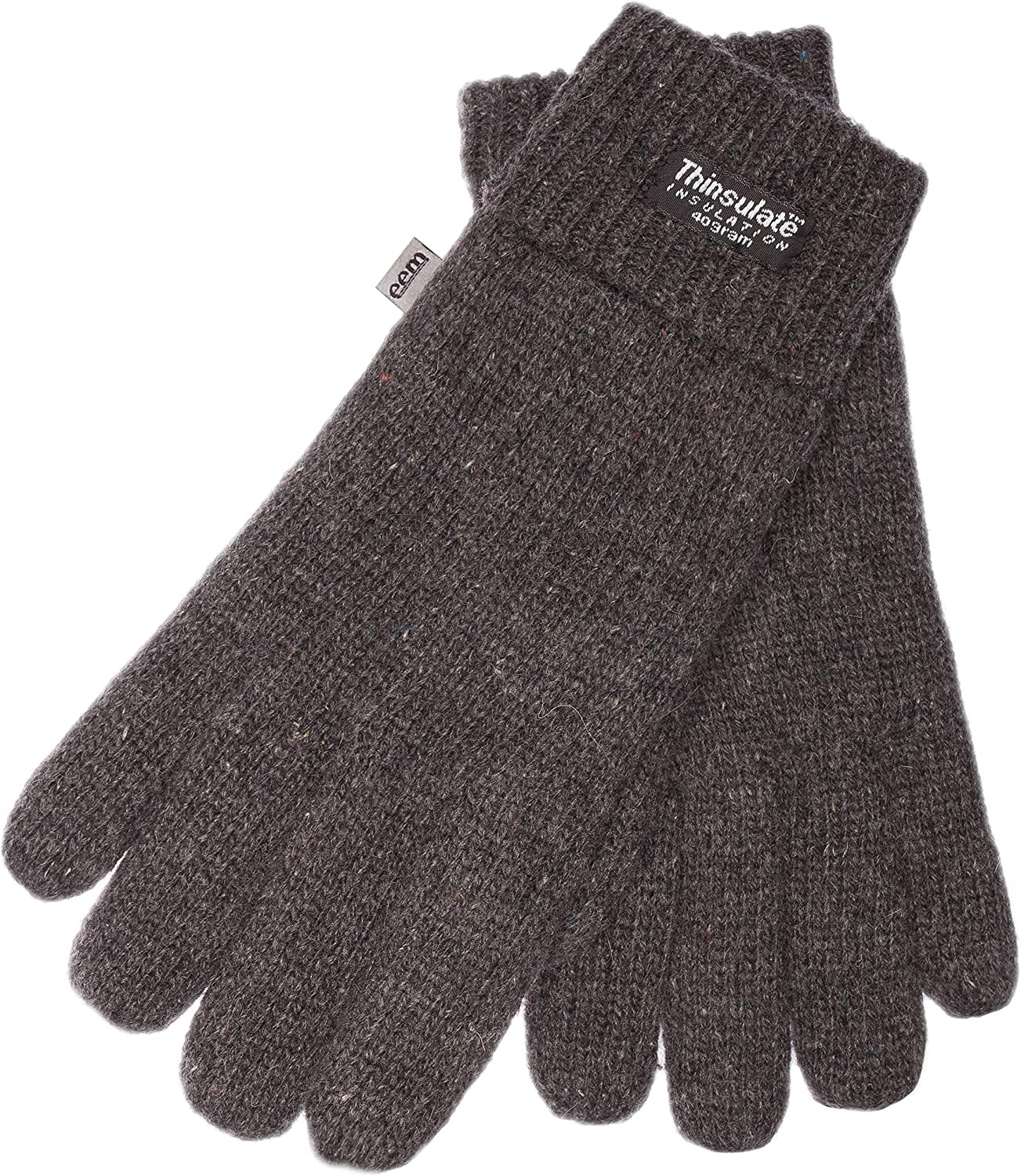 EEM Men's Knitted Gloves LASSE with Thinsulate thermal lining